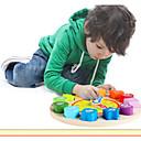 preiswerte Lesespielsachen-QZM Holz Uhr Spielzeug Bildungsspielsachen Neuartige Bildung Hölzern Jungen Mädchen Spielzeuge Geschenk