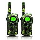 baratos Walkie Talkies-668 462 Rádio de Comunicação Portátil Aviso De Bateria Fraca Função de Poupança de Energia VOX Dual Display CTCSS/CDCSS Bloqueio de