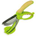 preiswerte Rubiks Würfel-Küchengeräte Edelstahl Kreative Küche Gadget Scissor Für Gemüse 1pc