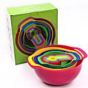 cheap Kitchen Tools-Kitchen Tools Plastic Creative Kitchen Gadget Fruit Basket Cooking Utensils 10pcs