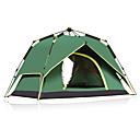 """זול שקי שינה וציוד לשינה בשטח-CAMEL 3-4 אנשים אוהל כפול קמפינג אוהל חיצוני אוהל אוטומטי עמיד אולטרה סגול מוגן מגשם נשימה ל קמפינג 1500-2000 מ""""מ"""