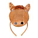 baratos Máscaras de Festa-CHENTAO Material para Cabeça Fita de Cabelo Cavalo Felpudo Unisexo Crianças Adulto Dom 1pcs