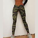 preiswerte Radtrikot und Shorts / Hosen Sets-Damen Sportlich Bedruckt Legging - Druck, Tier Mittlere Taillenlinie