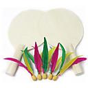 billige 3D-puslespill-Badmintonracketter Ping Pang Tre Langt Håndtak 2 Racket 5 Baller
