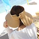 رخيصةأون قطع رأس-قبعة الماصة / قبعة شمسية لون سادة نسائي عطلة / الصيف