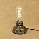 رخيصةأون بكرات الصيد-ريفي / بلدي / حديث LED مصباح المكتب من أجل معدن 220-240V
