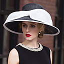 cheap Party Headpieces-Flax Hats with 1 Wedding / Special Occasion Headpiece