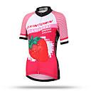 baratos Ligas para Noivas-XINTOWN Mulheres Manga Curta Camisa para Ciclismo - Vermelho Moto Secagem Rápida, Respirável, Redutor de Suor