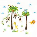billige Vægklistermærker-Landskab Dyr Botanisk Vægklistermærker Fly vægklistermærker Dekorative Mur Klistermærker, Vinyl Hjem Dekoration Vægoverføringsbillede Væg