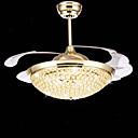 povoljno Stropni ventilatori-Flush Mount Ambient Light Electroplated Metal LED 110-120V / 220-240V Uključen je LED izvor svjetlosti / Integrirano LED svjetlo