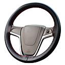 billige Tåkelys til bil-autoyouth mikrofiber skinn med bil rattet universell tilpasning diy deksel søm stil bil-styling innvendig tilbehør