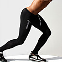 cheap Running Shirts, Pants & Shorts-Men's Drawstring Running Tights / Gym Leggings - Dark Blue, Gray, Blue Sports Letter Tights / Leggings Fitness, Training, Workout Activewear Quick Dry, Compression, Sweat-Wicking High Elasticity Slim