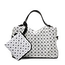 cheap Clutches & Evening Bags-Women's Bags Silica Gel Bag Set 2 Pieces Purse Set Black / Red / Clover