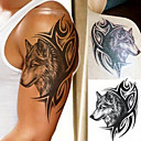 cheap Tattoo Stickers-Waterproof / 3-D / Tattoo Sticker Arm Temporary Tattoos 1 pcs Totem Series / Animal Series Body Arts
