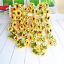 tanie Sztuczne kwiaty-Sztuczne Kwiaty 1 Gałąź minimalistyczny styl Słoneczniki Kwiaty na ścianę