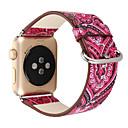 hesapli Anime Cosplay Peruklar-Watch Band için Apple Watch Series 4/3/2/1 Apple Klasik Toka Gerçek Deri Bilek Askısı