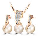 abordables Juego de Joyas-Mujer Conjunto de joyas - Princesa Clásico Incluir Dorado Para Boda / Fiesta / Ocasión especial / Diario / Casual