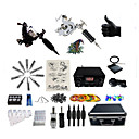 cheap Oil Paintings-BaseKey Tattoo Machine Professional Tattoo Kit, 6 pcs Tattoo Machines - 2 steel machine liner & shader Professional