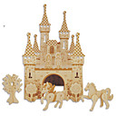 preiswerte Spielzeug für Weihnachten-Holzpuzzle Spielzeuge Burg Berühmte Gebäude Chinesische Architektur Haus Profi Level 1 Stücke