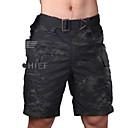 abordables Cámara de Caza-Pantalones cortos Bremuda Hombre Impermeable / Resistente al Viento / Transpirable Clásico Shorts / Malla corta / Prendas de abajo para Caza / Deportes recreativos