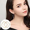 preiswerte Modische Ohrringe-Damen Kreolen - Erklärung, Grundlegend, Simple Style Gold / Silber Für Party Alltag Normal