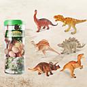baratos Figuras de dinossauro-Dragões & Dinossauros Brinquedos de Montar Figuras de dinossauro Velociraptor Dinossauro jurássico Triceratops Tiranossauro Rex Plástico