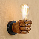 cheap Wall Sconces-Country / Retro / Modern / Contemporary Wall Lamps & Sconces Resin Wall Light 110-120V / 220-240V 40W