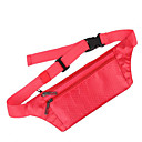 cheap Sports Bag, Belt Bag, Waist Bag-0.1 L Waist Bag / Waistpack / Wallet / Cell Phone Bag - Waterproof, Rain-Proof, Heat Insulation Outdoor Yoga, Camping / Hiking, Hunting Terylene, Waterproof Material Red, Gray, Fuchsia