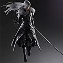 abordables Figuras de Acción de Anime-Las figuras de acción del anime Inspirado por Final Fantasy Sephiroth CLORURO DE POLIVINILO 28 CM Juegos de construcción muñeca de juguete