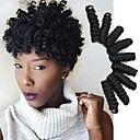 cheap Hair Braids-Braiding Hair Bouncy Saniya Curl Twist Braids Pre-loop Crochet Braids / Curlkalon Hair 100% kanekalon hair 20 roots / pack Hair Braids Ombre Grey Color Bug 10 inch Tangle Free 5-6 pack Make Full Head