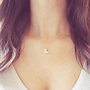 cheap Necklaces-Women's Pendant Necklace - Moon Basic Gold, Silver Necklace For Christmas Gifts, Wedding, Party