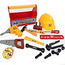 baratos Ferramentas de Brinquedo-Ferramentas de Construção / Brinquedos de Faz de Conta / Ferramentas de Brinquedo Segurança / Simulação Plástico Para Meninos Crianças Dom
