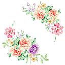 baratos Adesivos de Parede-Moda Floral Desenho Animado Adesivos de Parede Autocolantes de Aviões para Parede Autocolantes de Parede Decorativos, Vinil Decoração