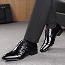 זול נעלי אוקספורד לגברים-בגדי ריקוד גברים נעליים פורמליות מיקרופייבר אביב / סתיו עסקים נעלי אוקספורד הליכה שחור / שרוכים / מפרק מפוצל / נעלי נוחות / EU40
