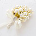 """זול פרחי חתונה-פרחי חתונה זרים פרחי דש אחרים פרחים מלאכותיים חתונה מסיבה\אירוע ערב חומר שזירה תחרה מֶשִׁי 0-20 ס""""מ"""