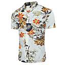 رخيصةأون أغطية مخدات-للرجال قميص شيك ياقة كلاسيكية ضعيف