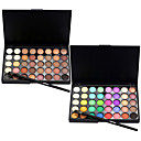 cheap Eyeshadows-Eyeshadow Palette Eyeshadow Brush 1160 Eye Face Waterproof Coloured gloss Long Lasting 40 Colors Cosmetic Grooming Supplies