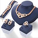 رخيصةأون قلادات-للمرأة مجموعة مجوهرات - euramerican في تتضمن ذهبي من أجل يوميا