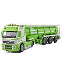 billige Toy Trucks & Construction Vehicles-Tankbil Leketrucker og byggebiler Lekebiler 01:50 Metallisk Barne Unisex Gutt Jente Leketøy Gave