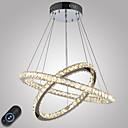 رخيصةأون أضواء السقف والمعلقات-أضواء معلقة ضوء محيط - كريستال, تخفيت, LED, 110-120V / 220-240V وشملت مصدر ضوء LED / 10-15㎡ / LED متكاملة