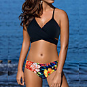 billige Midlertidige tatoveringer-Dame Grime Bikini - Trykt mønster