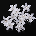cheap Pressed Powders-Resin Headwear Hair Clip Hair Pin Hair Tool with Floral 1pc Wedding Special Occasion Casual Office & Career Headpiece