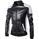 cheap Motorcycle & ATV Parts-Motorcycle Clothes Jacket PU Leather All Seasons Windproof