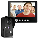 baratos Sistemas de Câmeras para Portas-Mountainone 9 polegadas vídeo porta telefone campainha intercom kit 1 câmera 1 monitor de visão noturna