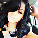 cheap Human Hair Wigs-Human Hair Glueless Lace Front Lace Front Wig Brazilian Hair Loose Wave Wig 130% Density with Baby Hair Natural Hairline African American Wig 100% Hand Tied Women's Short Medium Length Long Human