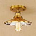 رخيصةأون إضاءات الأسقف-أضواء معلقة ضوء محيط مطلي معدن استايل مصغر, المصممين 110-120V / 220-240V يشمل لمبات / E26 / E27