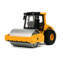 billige Lekebiler i støpejern-KDW Entreprenørmaskiner Politibil Kompaktor Leketrucker og byggebiler Lekebiler 1:48 Metall-legering Plast ABS Unisex Barne Leketøy Gave