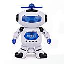 お買い得  携帯電話ケース & スクリーンプロテクター-宇宙ダンスミュージック赤外線電気ロボット玩具は、360度のライトを回転させます
