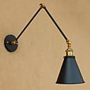 baratos Luminárias de Braço-Rústico / Campestre / Regional Swing Arm Lights Metal Luz de parede 110-120V / 220-240V 40 W / E26 / E27