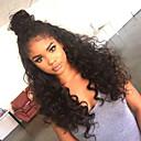 preiswerte Badarmaturen-Echthaar Perücke Stil Brasilianisches Haar 360 Frontal Wasserwellen Perücke 180% Haardichte mit Babyhaar Natürlicher Haaransatz Afro-amerikanische Perücke 100 % von Hand geknüpft Vorgerupft Damen